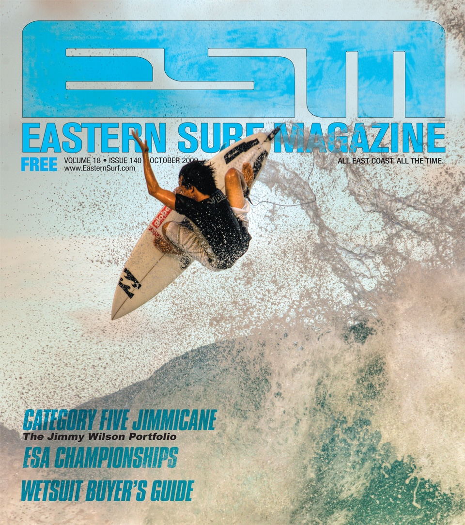 Jacksonville's Ryan Briggs first cover. October 2009