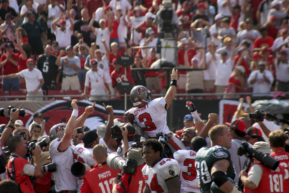 Matt Bryant's 61 Yard (Bucs Record) Game Winning Field Goal Circa 2006 vs. The Eagles