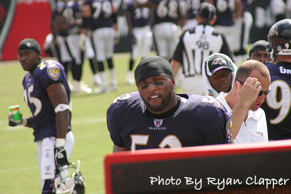 Heckling Ray Lewis in his prime. Circa 2008
