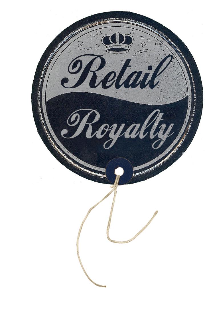 Retail Royalty. ESM's Departmental Logo for highlighting surf shops