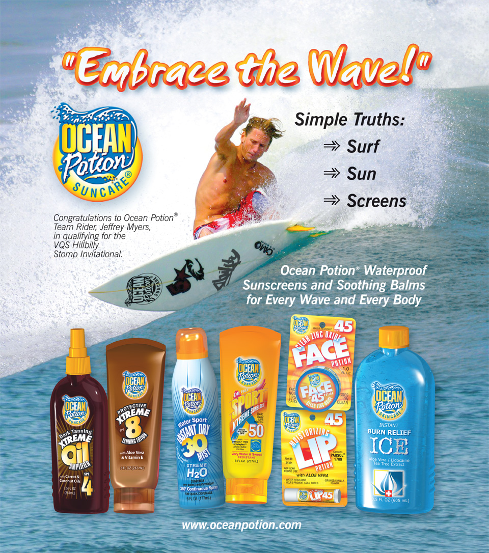 National Ad Campaign for Ocean Potion